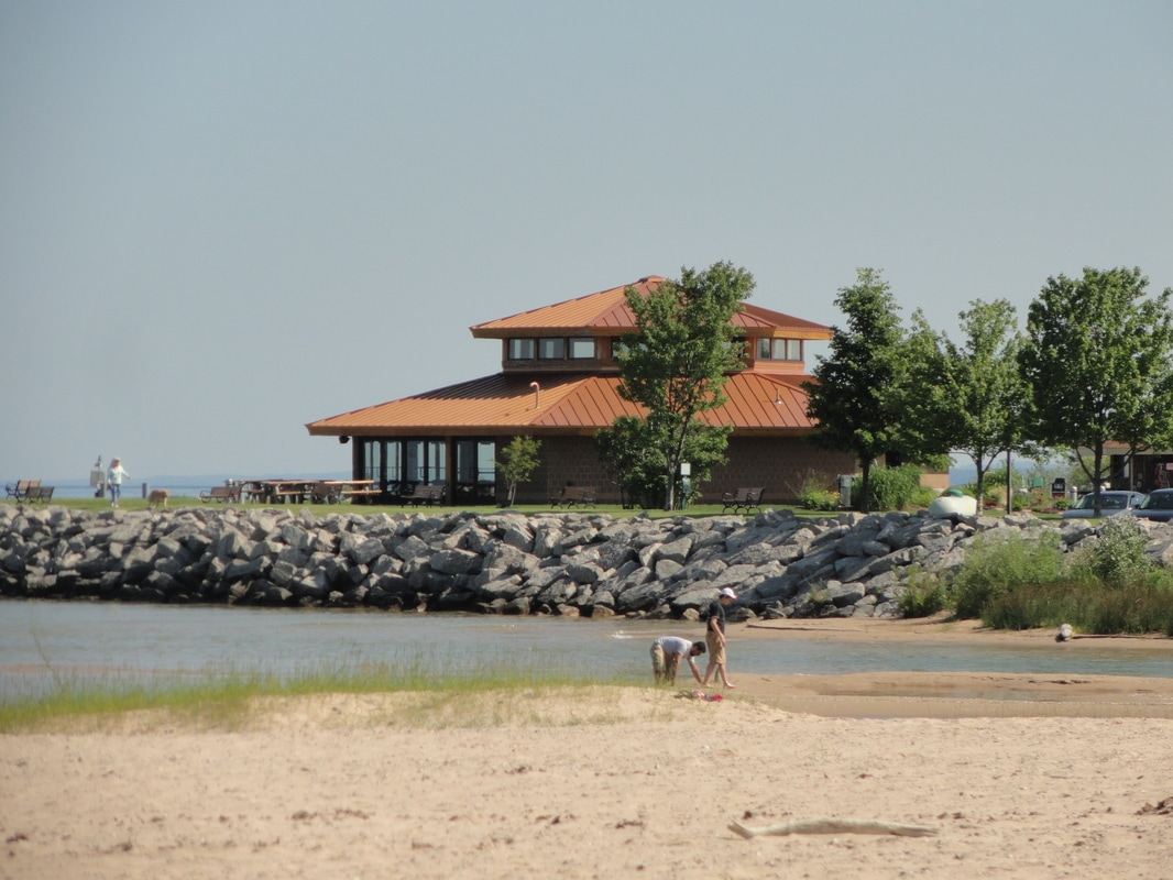 Elk Rapids Harbor Pavilion